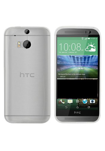 Colorfone CoolSkin3T HTC One M8/M8s Tr. Wit