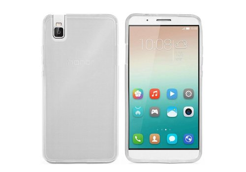 Colorfone CoolSkin3T Honor 7i/ShotX Tr. Wit