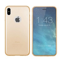Etui CoolSkin3T do Apple iPhone X / Xs Tr. złoto