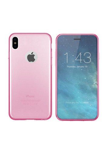 Colorfone CoolSkin3T iPhone X / Xs Tr. Różowy