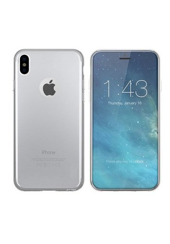 Colorfone CoolSkin3T iPhone X/Xs Tr. Wit