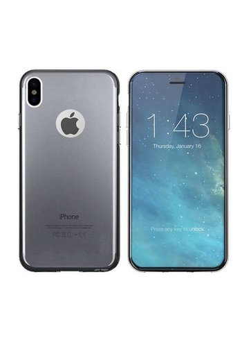 Colorfone CoolSkin3T iPhone X / Xs Tr. czarny