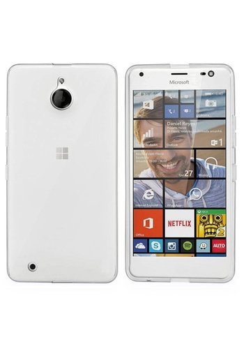 Colorfone CoolSkin3T Lumia 850 Tr. Wit