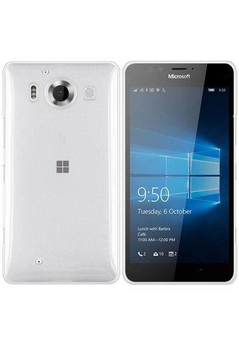 Colorfone CoolSkin3T Lumia 950 Tr. Wit