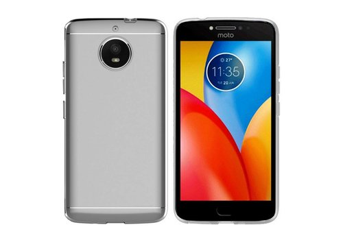 Colorfone CoolSkin3T Moto E4 Plus Tr. Wit
