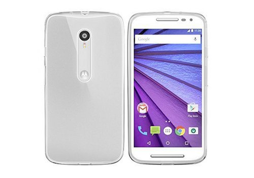 Colorfone CoolSkin3T Moto G (2015) Tr. Wit