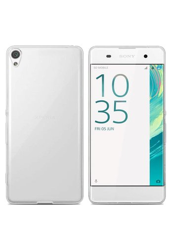 Colorfone CoolSkin3T Xperia XA 1 Plus Tr. Wit