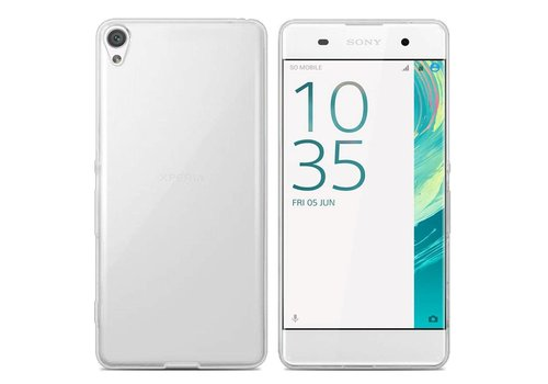 Colorfone CoolSkin3T Xperia XA 1 Plus Tr. Weiß