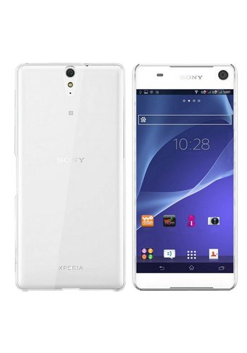 Colorfone CoolSkin3T Xperia C5 Tr. Wit