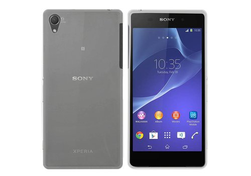 Colorfone CoolSkin3T Xperia Z2 Tr. Wit