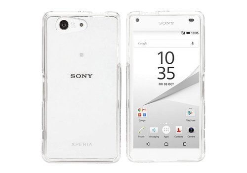 Colorfone CoolSkin3T Xperia Z5 Compact Tr. Weiß