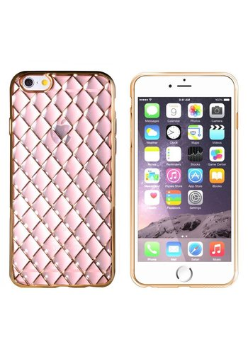 Colorfone Diamant iPhone 6 / 6S Gold Pink