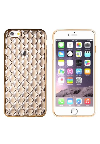 Colorfone Diamond iPhone 6 Plus / 6S Plus Złoty Czarny