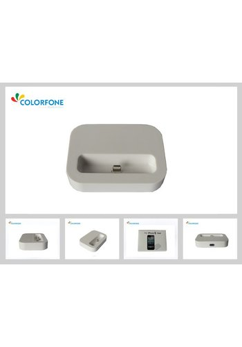 Lader Docking Station iPhone 5/iPod Touch 5/iPod Nano 7 Wit