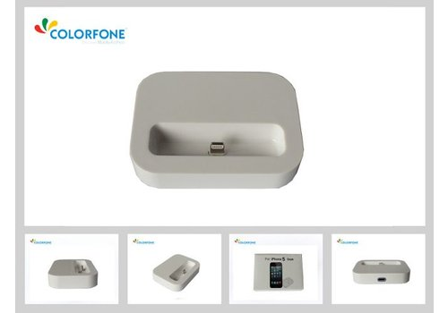 Charger Docking Station iPhone 5/iPod Touch 5/iPod Nano 7 White