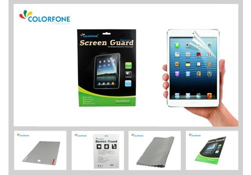 Colorfone Screenprotector Clear iPad 2,The New iPad(3)