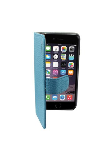 Suncia Leather5 iPhone 6 Plus/6S Plus Klassiek Blauw