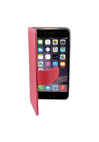 Suncia Leather5 iPhone 6 Plus/6S Plus Klassiek D.Roze