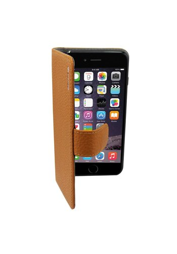 Suncia Leather5 iPhone 6 Plus/6S Plus Klassiek Bruin