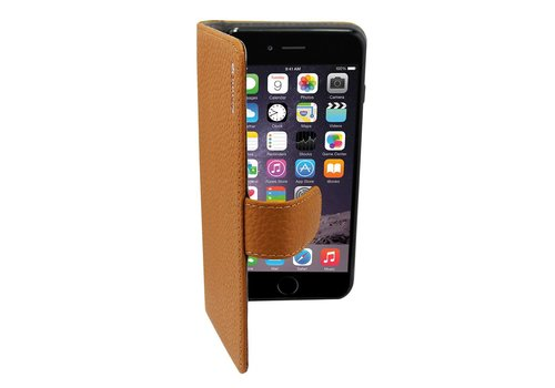 Suncia Leather5 for iPhone 6 Plus/6S Plus Classic Brown
