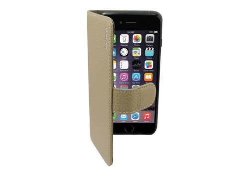 Suncia Leather5 iPhone 6 Plus/6S Plus Klassiek Grijs