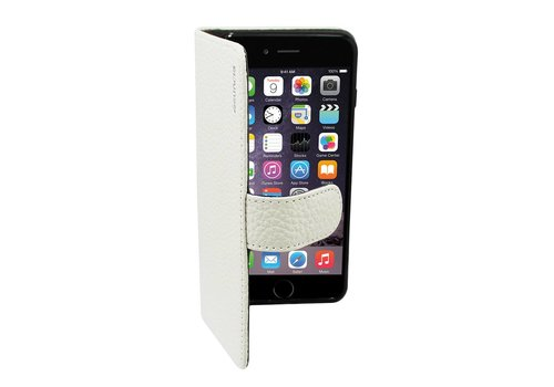 Suncia Leather5 iPhone 6 Plus/6S Plus Klassiek Wit
