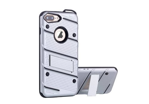 Colorfone Armour Stand iPhone 6 Plus Silver