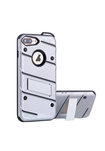 Colorfone Armour Stand iPhone 7 Plus Zilver