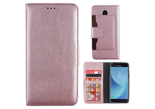 Colorfone Wallet for Galaxy J5 2017 Pink