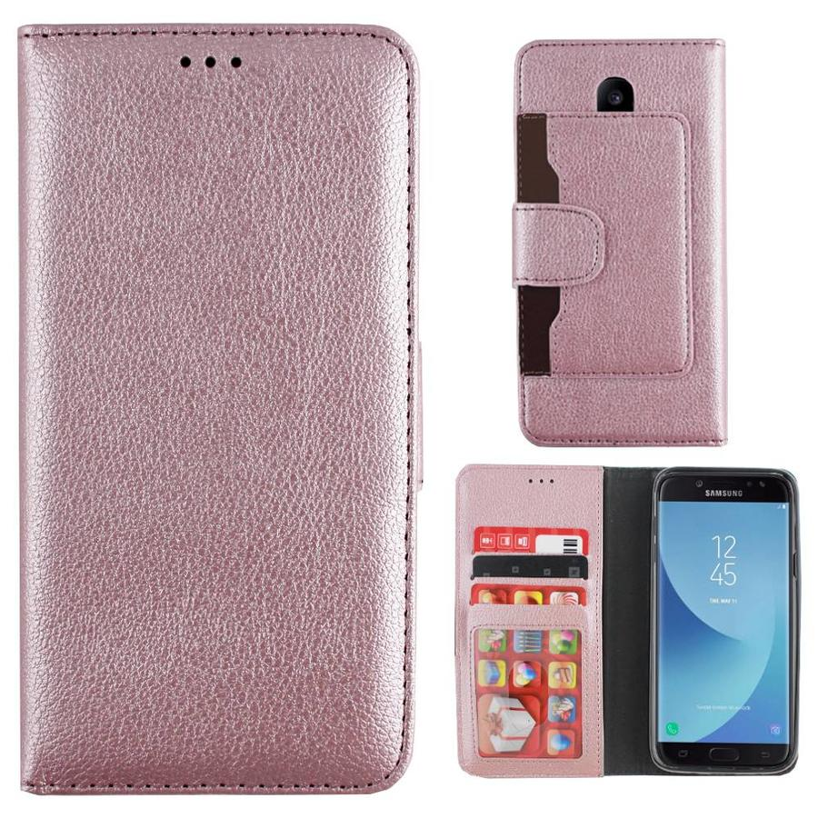 Wallet Case for Samsung Galaxy J5 2017 Pink