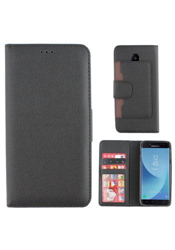 Colorfone Wallet Case Galaxy J5 2017 Zwart
