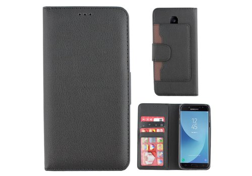 Colorfone Wallet Case Galaxy J7 2016 Black