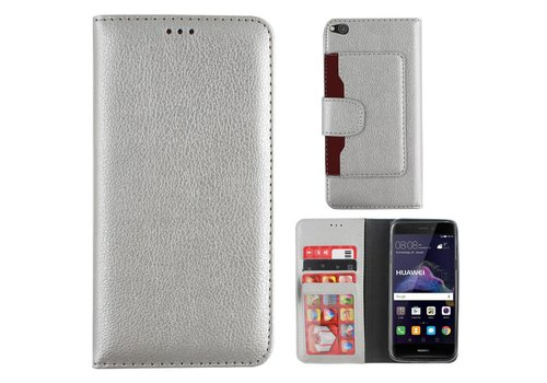 Colorfone Wallet for P9 Lite 2017 Silver