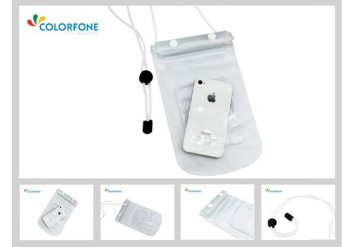 Colorfone Waterproof #1 Universeel Transparant Wit