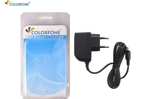 Colorfone Reislader voor Mini USB 500 mAh