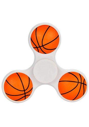 Hand Spinner Basketbal Wit