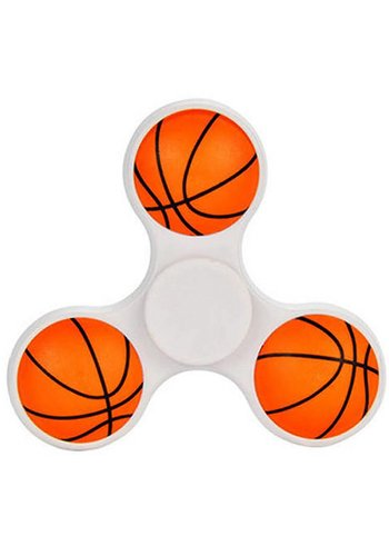 Hand Spinner Basketball Weiß