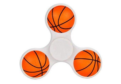 Handspinner Basketball Weiß