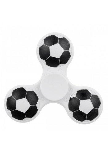 Hand Spinner Fußball Weiß