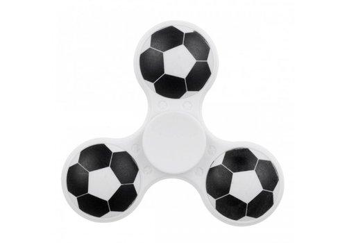 Hand Spinner Soccer White