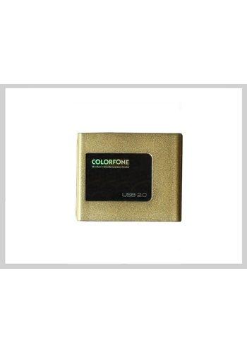 Colorfone USB-Kartenleser Luxus Gold
