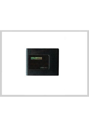 Colorfone USB-Kartenleser Luxus Schwarz