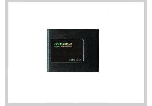 Colorfone USB Kaartlezer Luxury Zwart