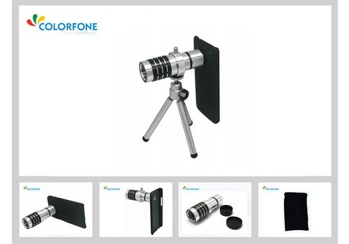 12 Times Lens with Tripod N9000 Galaxy Note 3 Black