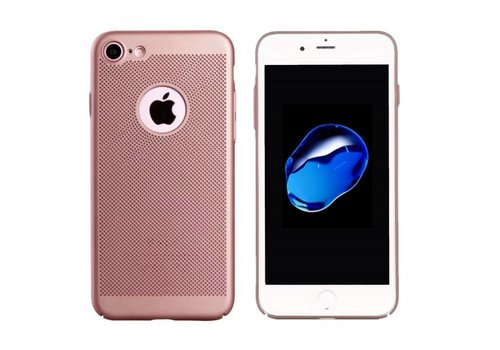 Colorfone Backcover Holes iPhone 8 Rose Gold