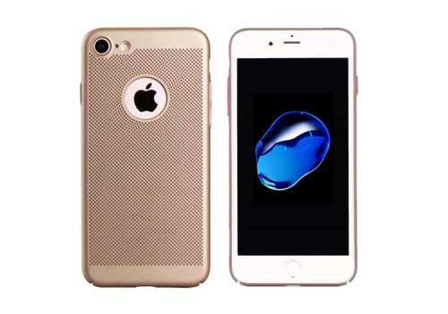 Colorfone Backcover Holes iPhone 8 PlusGold