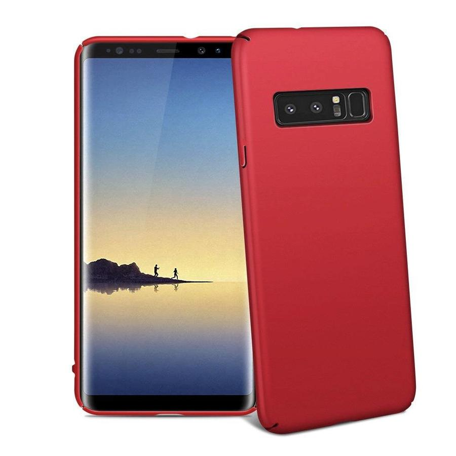BackCover Mat voor Samsung Note 8 Rood