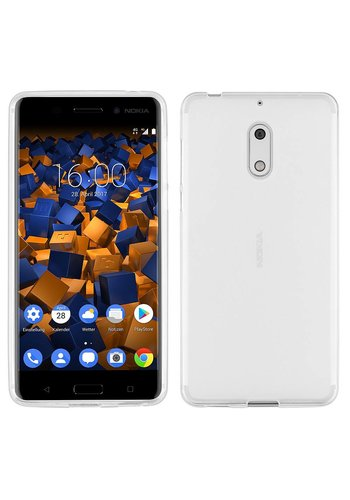 Colorfone CoolSkin3T Nokia 6 Transparant Wit