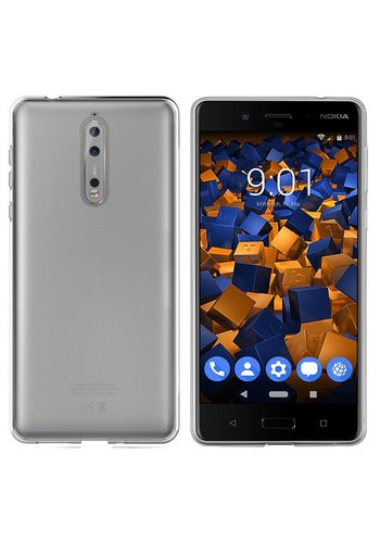Colorfone CoolSkin3T Nokia 8 Transparant Wit