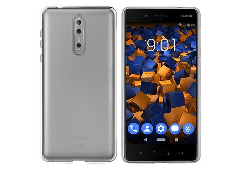 Colorfone CoolSkin3T Nokia 8 Transparent White